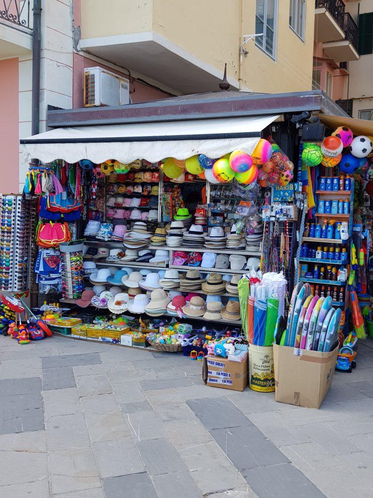 Strandwinkeltje Alassio, Italiaanse Rivièra