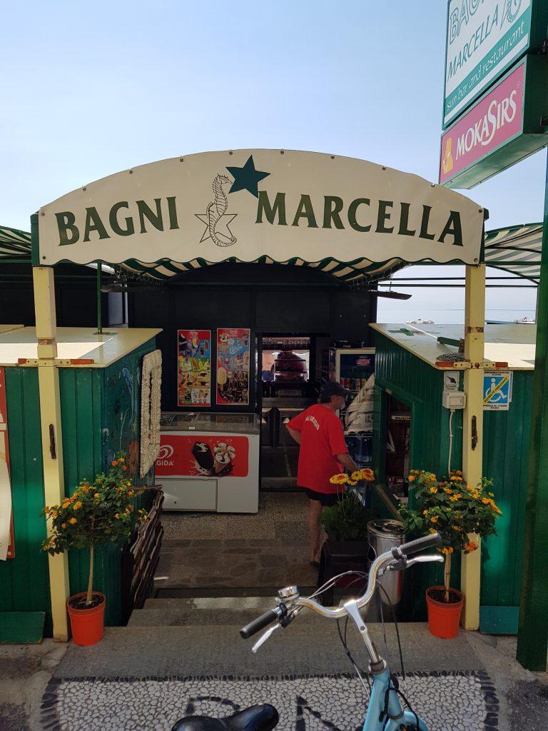 Bagni Marcella Alassio strand Italië