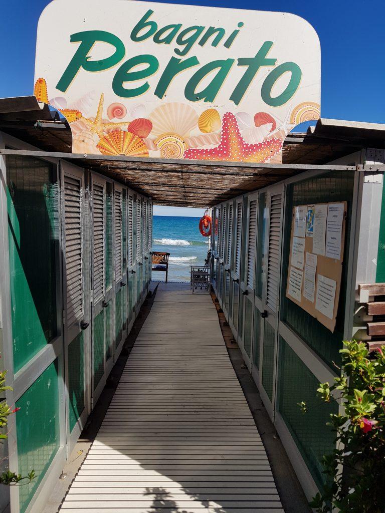 Bagni Perato Alassio bloemenrivièra, Italië www.alassio.nl