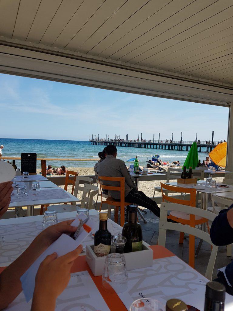 Clapsy (Ristorante & Pizzeria sul mare di Alassio) (familie restaurant aan het strand van Alassio)