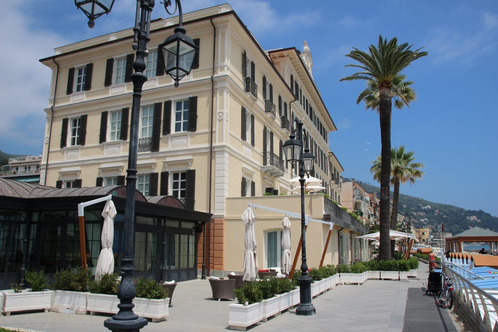 Grand Hotel Alassio resort & spa, bloemenrivièra, Ligurië, Italië ****** (vijf sterren strandhotel Alassio, Italiaanse Rivièra) www.alassio.nl