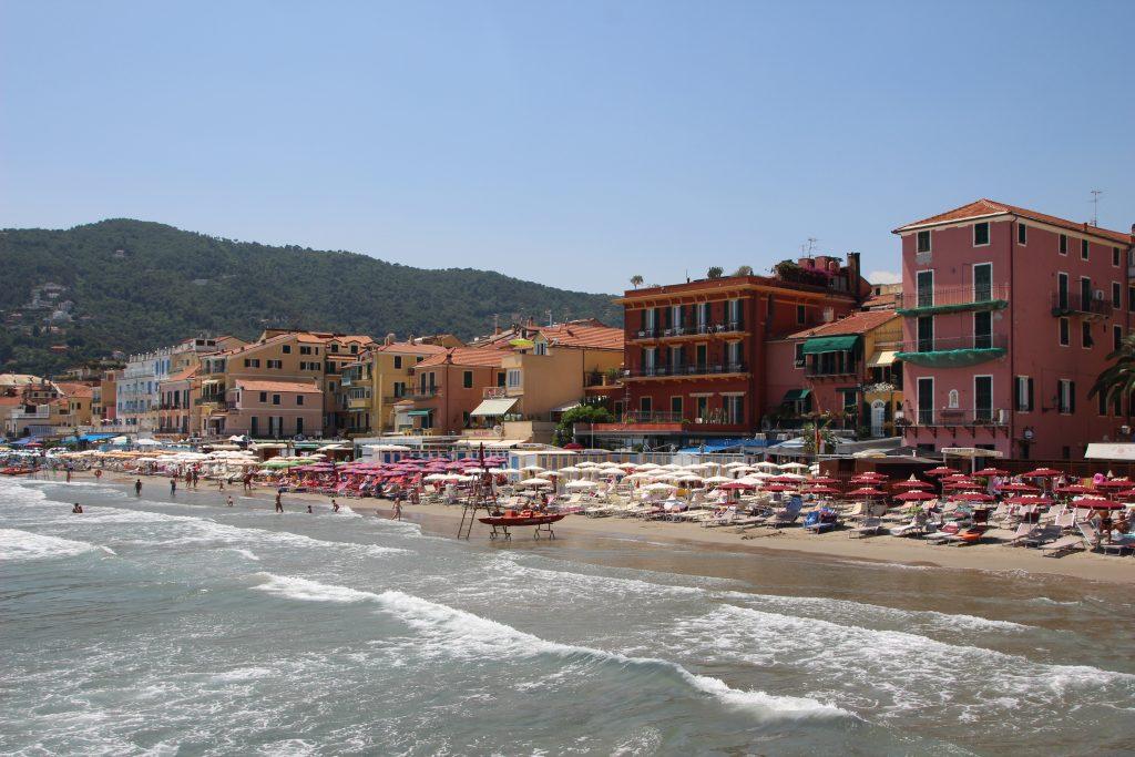 Alassio, Ligurië, Italië
