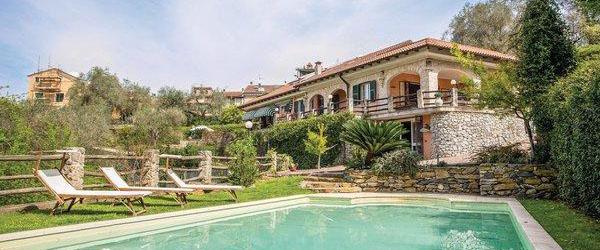 vakantiehuis in Laigueglia, bloemenrivièra, Italie